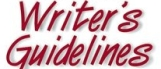 Writers Guidelines